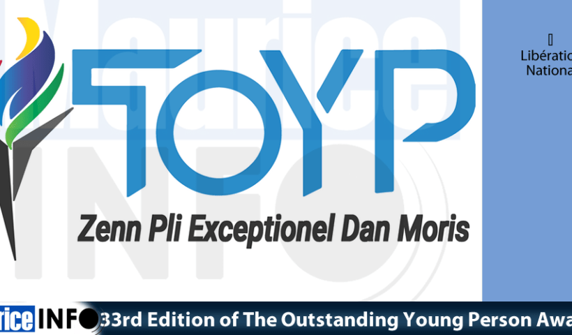 33rd Edition of The Outstanding Young Person Award