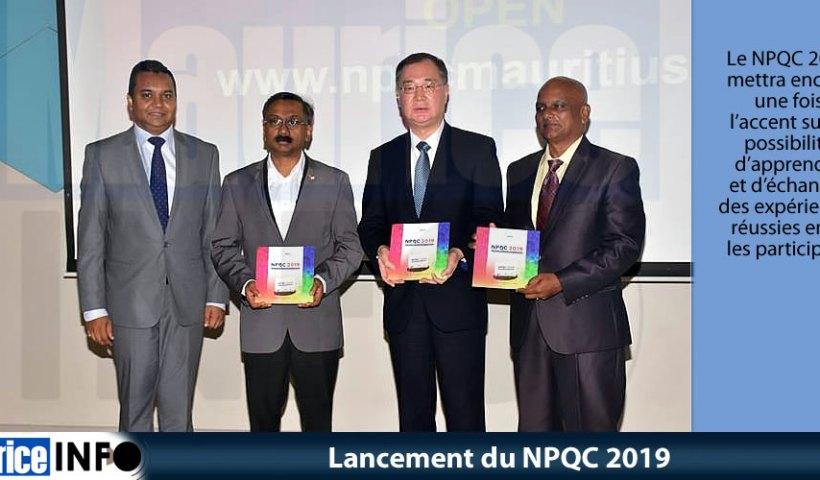 Lancement du NPQC 2019