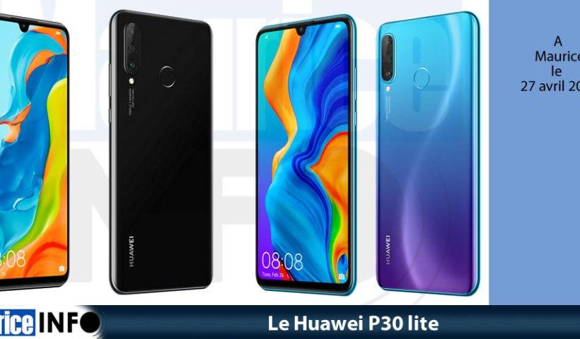 Le Huawei P30 lite