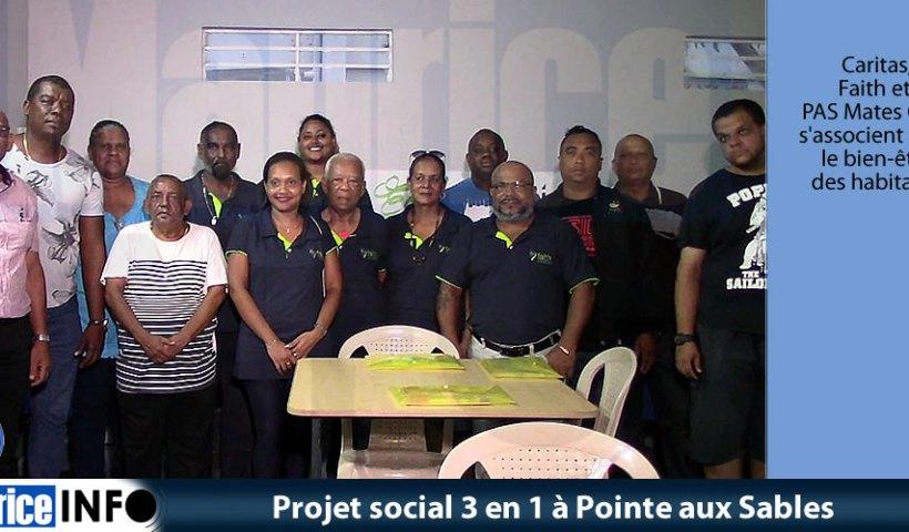 Projet social 3 en 1 à Pointe aux Sables