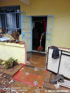 La SMF nettoie des maisons dans le nord