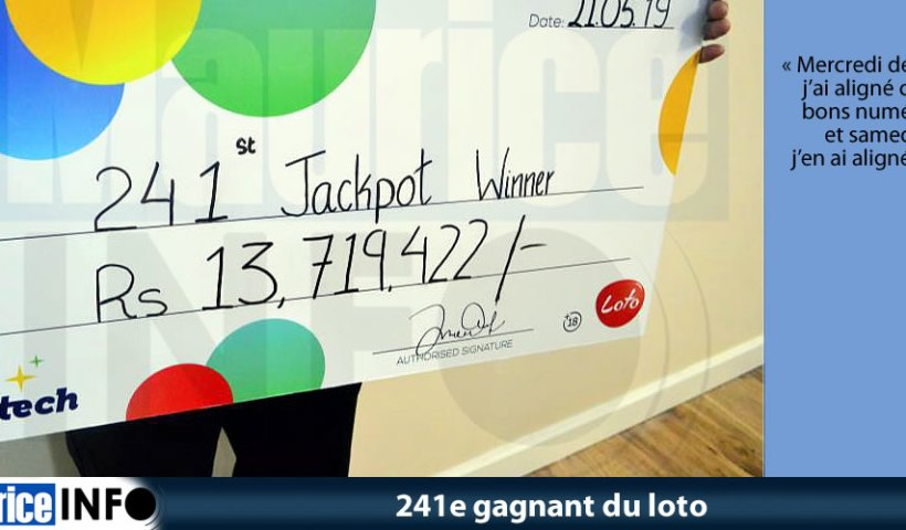 241e gagnant du loto