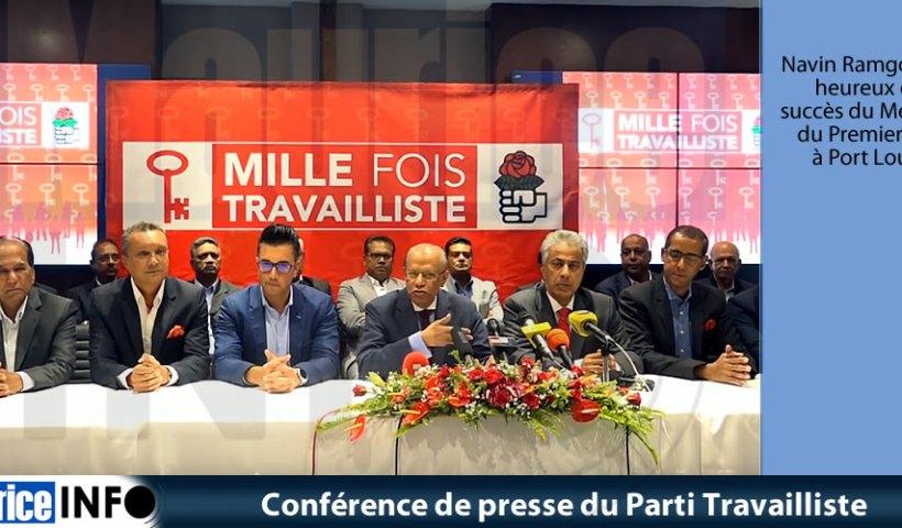 Conférence de presse du Parti Travailliste du 4 Mai 2019