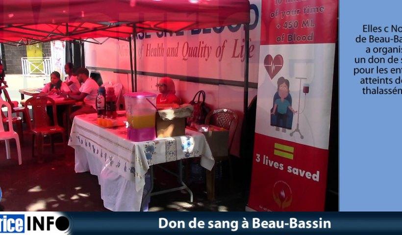 Don de sang à Beau-Bassin