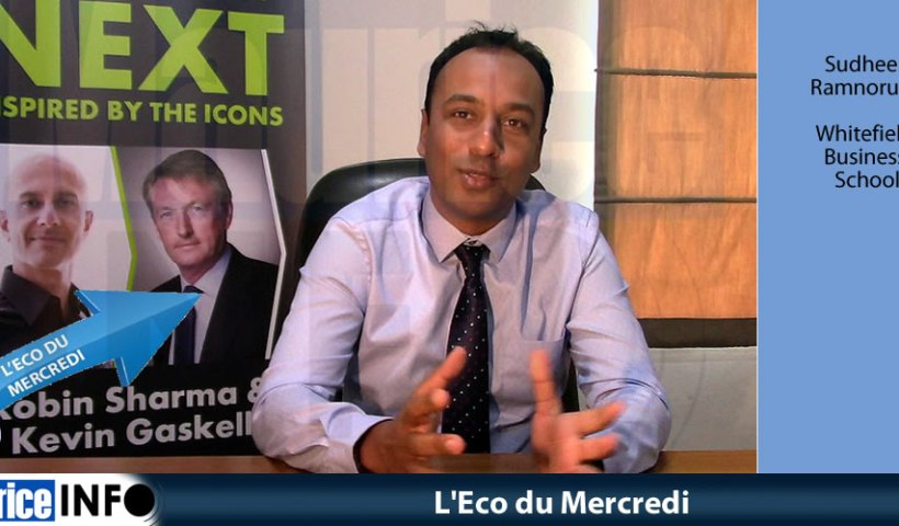 L'Eco du Mercredi - Sudheer Ramnoruth de Whitefield Business School