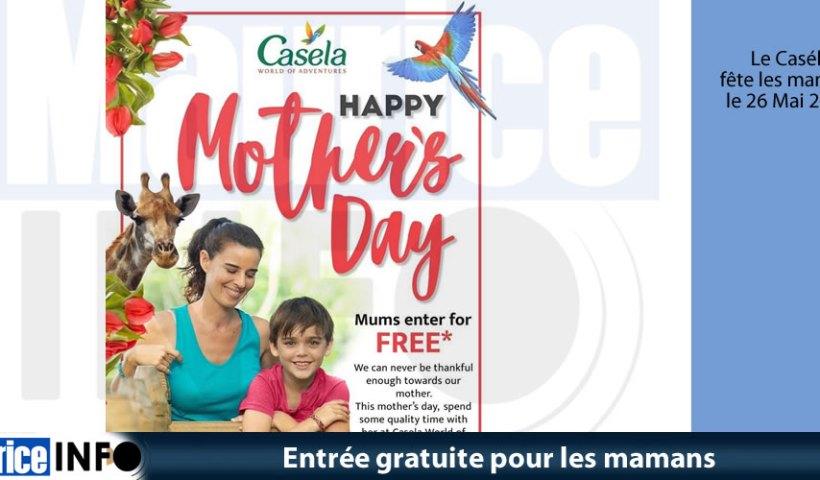 Entrée gratuite pour les mamans