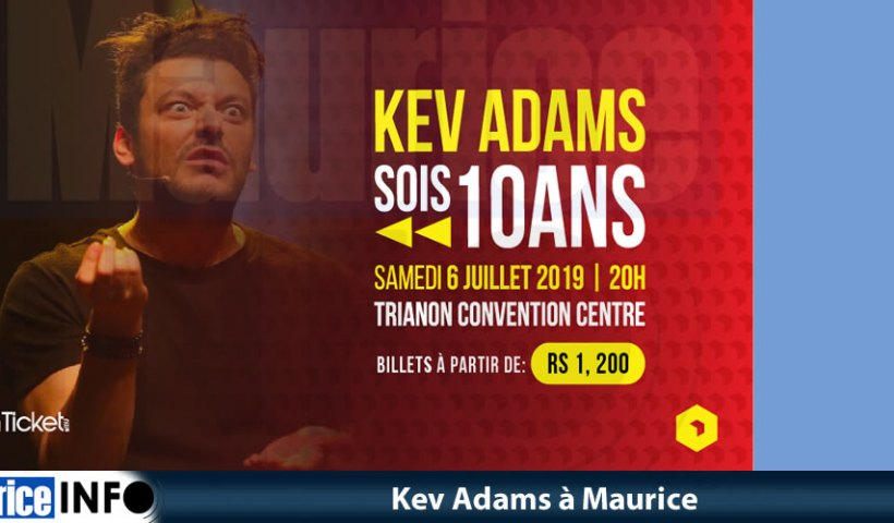 Kev Adams à Maurice