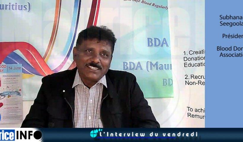 L'Interview du vendredi Subhanand Seegoolam