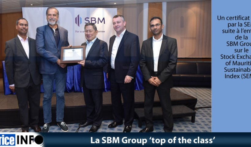 La SBM Group 'top of the class'