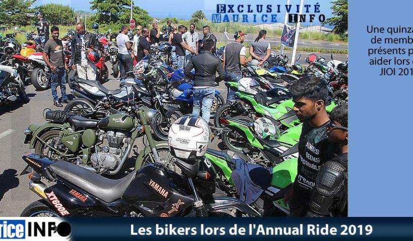 Les bikers lors de Annual Ride 2019