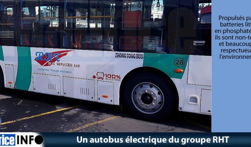 Un autobus électrique du groupe RHT