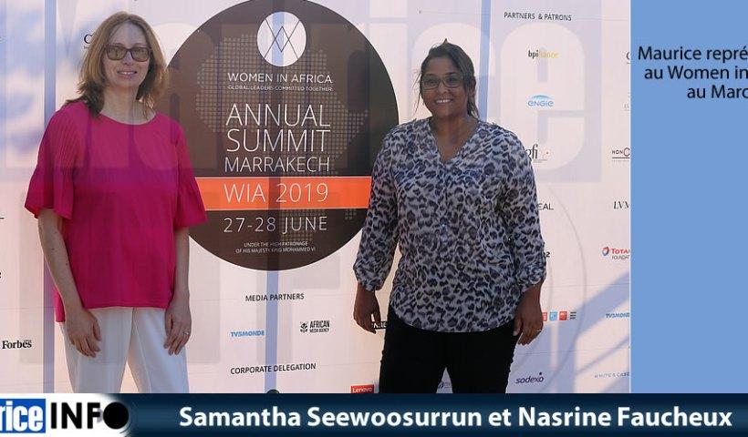 Samantha Seewoosurrun et Nasrine Faucheux