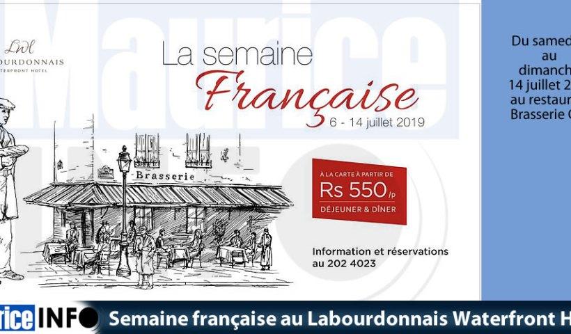 Semaine française au Labourdonnais Waterfront Hotel