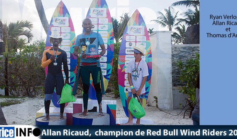 Allan Ricaud champion de Red Bull Wind Riders 2019