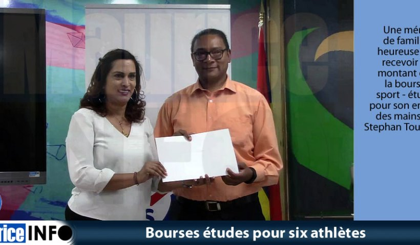 Bourses études pour six athlètes