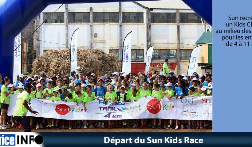 Départ du Sun Kids Race