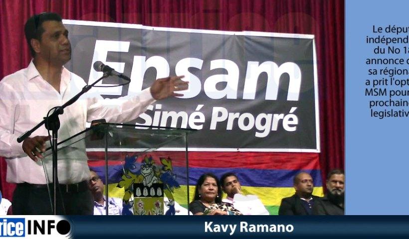 Kavy Ramano à Quatre Bornes