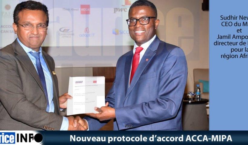 Nouveau protocole'accord ACCA-MIPA