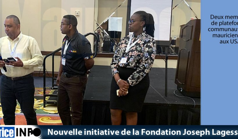 Nouvelle initiative de la Fondation Joseph Lagesse