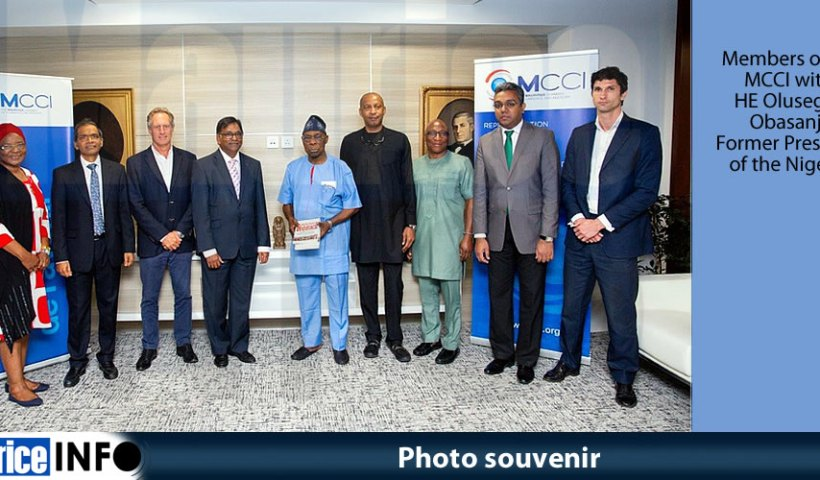 Photo souvenir MCCI welcomes the former President of Nigeria