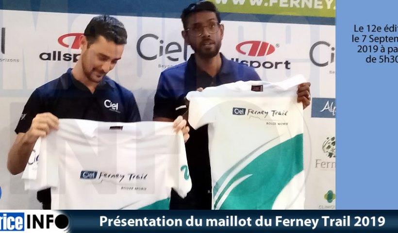 Présentation du maillot du Ferney Trail 2019