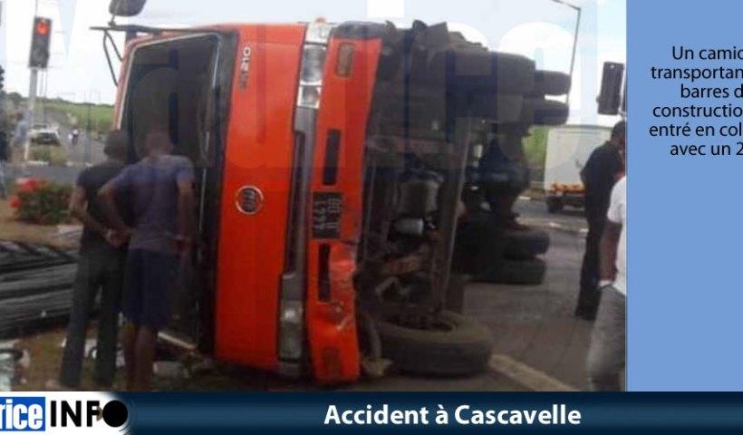Accident à Cascavelle