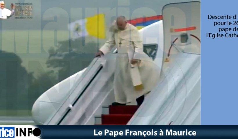 Le Pape François à Maurice