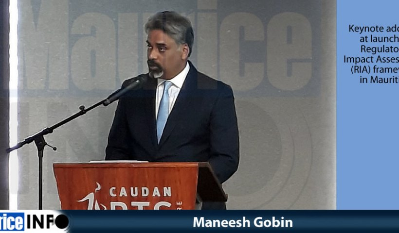Maneesh Gobin speech art RIA