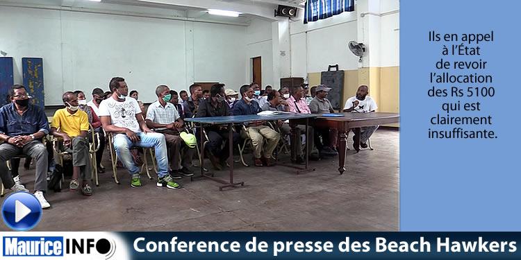 [Vidéo News]Conference de presse des Beach Hawkers