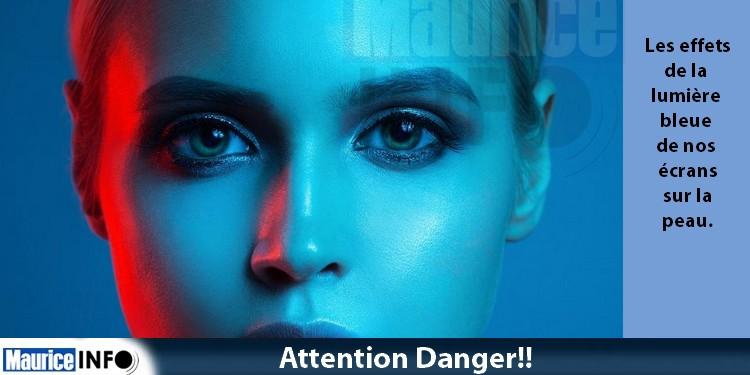 CIDP sensibilise aux effets de la lumière bleue de nos écrans sur la peau