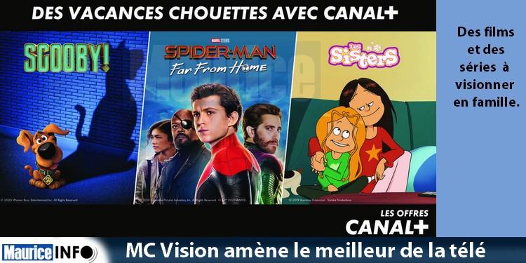 MC Vision amène le meilleur de la télé chez vous pendant les vacances scolaires