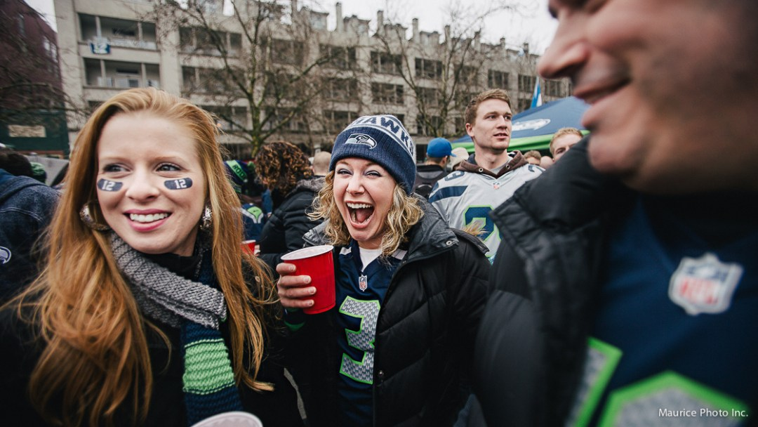 12th Man tailgate party