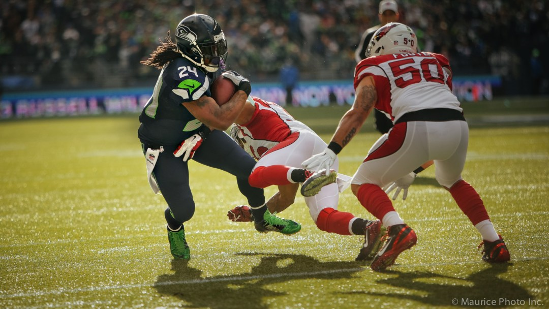 Beast mode runs the balls against the Cardinals