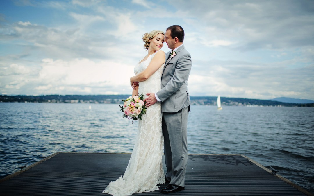 Lauren + Steve at Sand Point Country Club