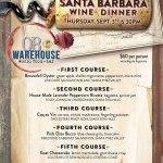 Santa Barbara wine dinner