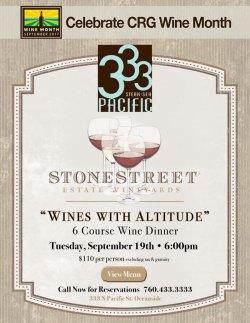 Stonestreet Dinner