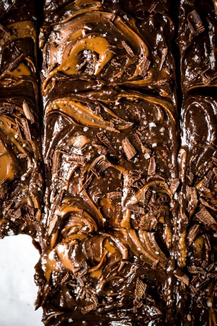 Gâteau au chocolat noir
