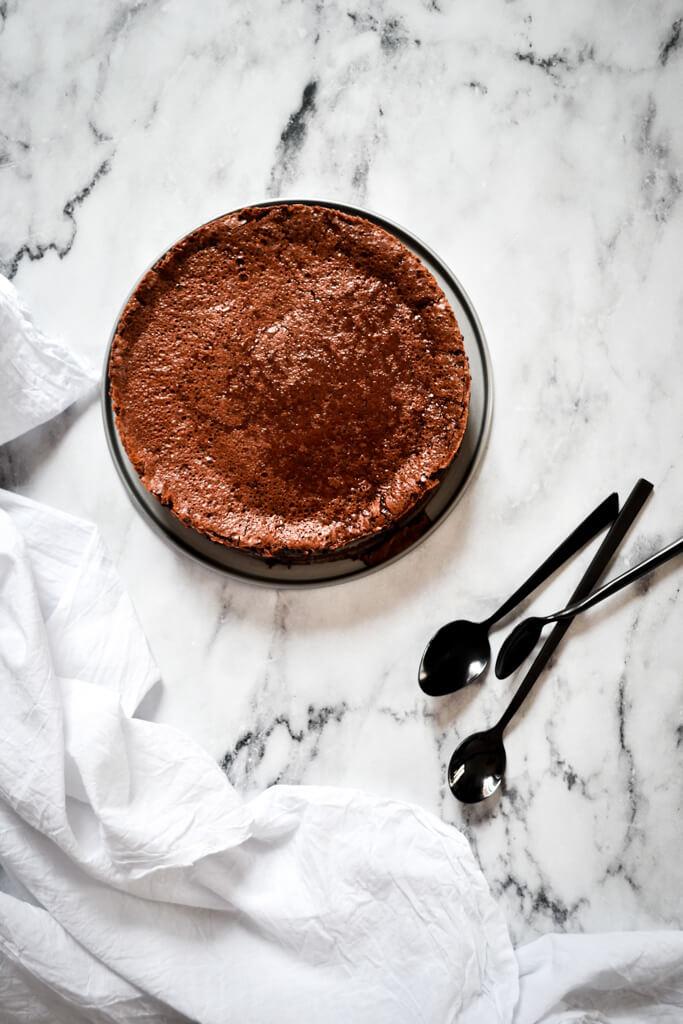 Gâteau fondant baulois