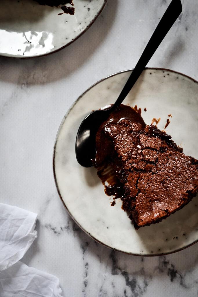 Fondant baulois gourmand au chocolat noir