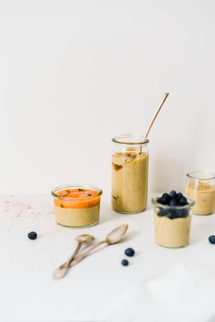 Crème dessert vanille healthy