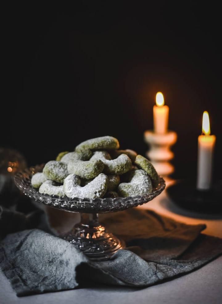 Biscuits de Noël à la pistache