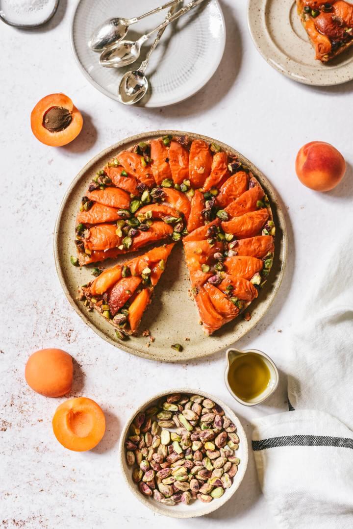 Comment faire une tarte aux abricots