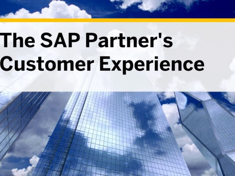 Cloud Talk – The SAP Partner Customer Experience