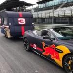 Red Bull in caravan ….