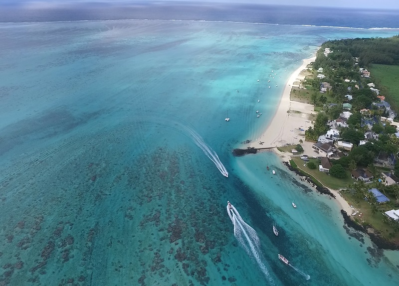 Pointe desny beach in Mauritius. Best snorkeling spot. Photos of Mauritius