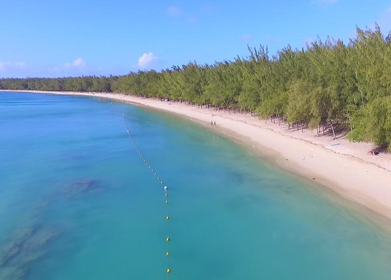 Choisy beach in Mauritius