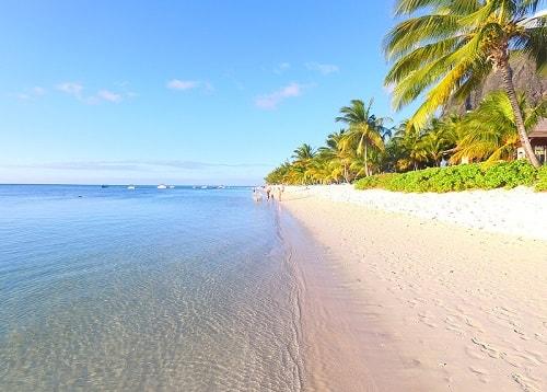 Le Morne Beach. Best hotel in Mauritius. Lux Le Morne
