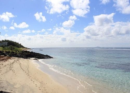 Poste lafayette beach in Mauritius