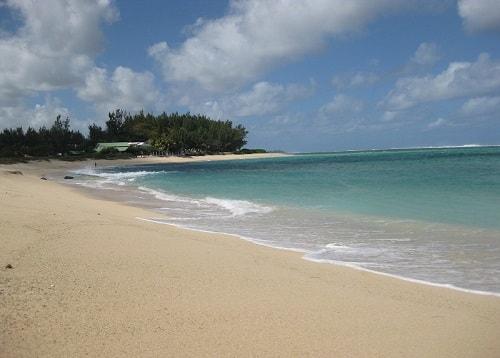 Riambel beach in Mauritius