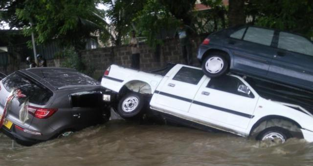 Flash Flooding in the Capital of Mauritius, Again